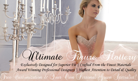 imagine walking down the aisle in the most luxurious figure flattering and glamorous wedding dress that was designed just for you